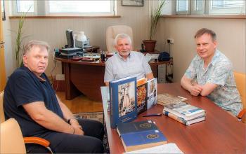 Встреча с директором издательства «Морское наследие»
