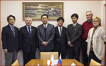 Визит японских ученых - фото 1