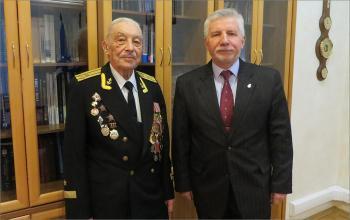 100-летний юбилей ветерана-гидрографа