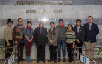 Встреча делегации ученых Китайской Республики (о.Тайвань)