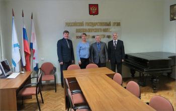 Визит архивистов Санкт-Петербурга