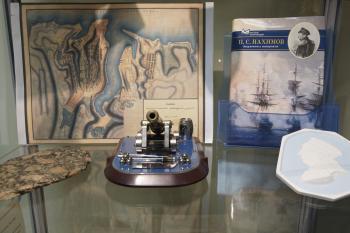 Музейный экспонат в РГАВМФ