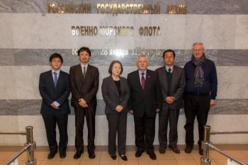 Визит японской делегации. Общее фото