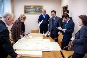 Визит японской делегации.