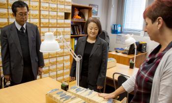 Визит японской делегации. В каталоге РГАВМФ