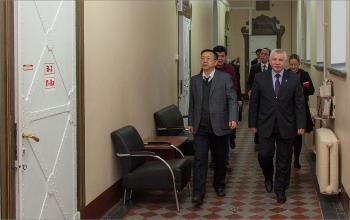 Визит делегации КНР