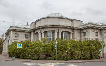 Кронштадт. Центральная районная библиотека.