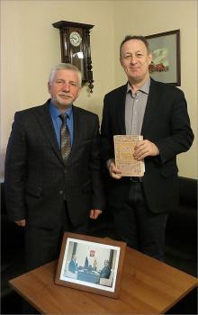 Визит ученого из Татарстана