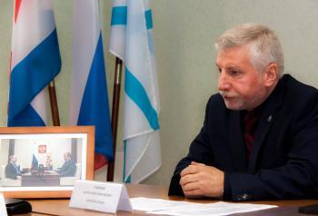 Директор РГАВМФ В.Г. Смирнов