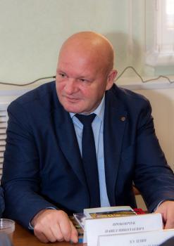 Начальник филиала Центрального архива Министерства обороны (Архива ВМФ) П.Н. Прокопчук