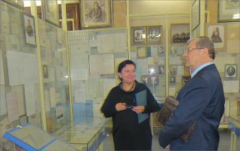 Рабочий визит А.Н.Артизова в СПб