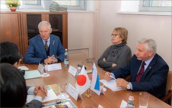 Встреча японской делегации