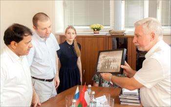 Встреча с делегацией Султаната Оман