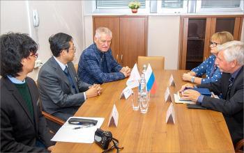 Визит делегации Токийского университета