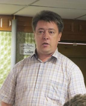Военный историк Э.Л.Коршунов